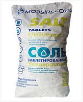 """Соль таблетированная """"МОЗЫРЬ"""", 25 кг"""