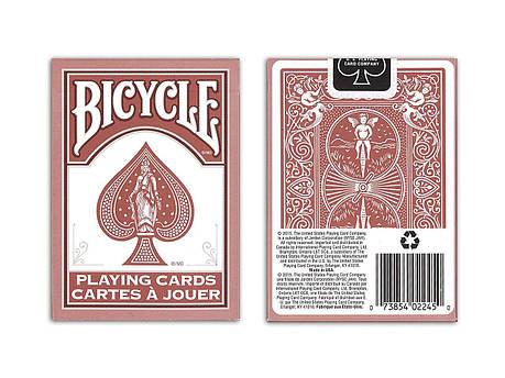 Карты игральные | Bicycle Marsala, фото 2