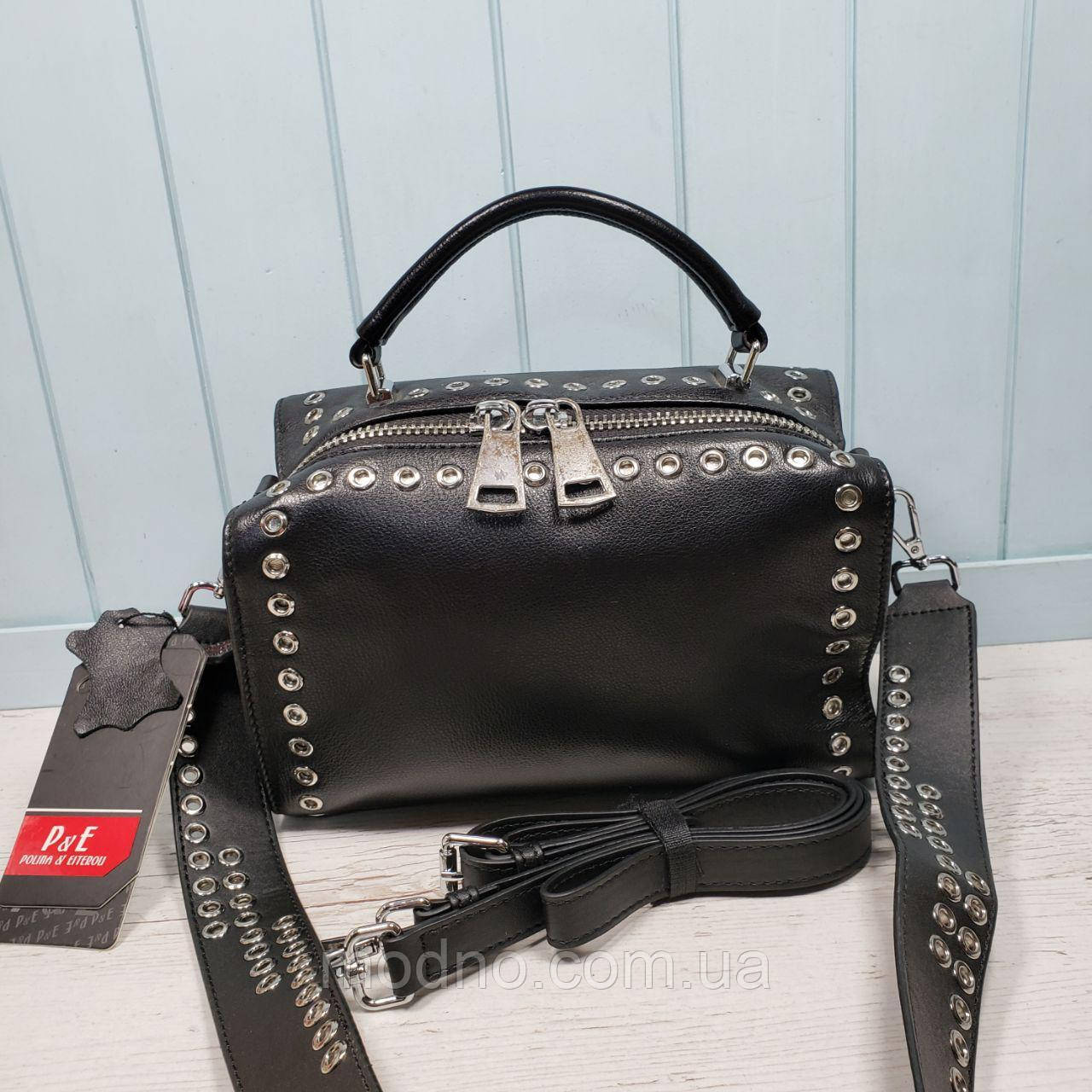 eb4462a2f Женская кожаная сумка Polina & Eiterou - Интернет-магазин
