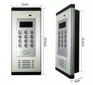Многоквартирный GSM домофон