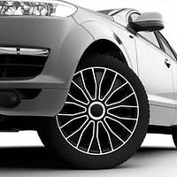 Автомобильные колпаки Voltec Black&White R 16