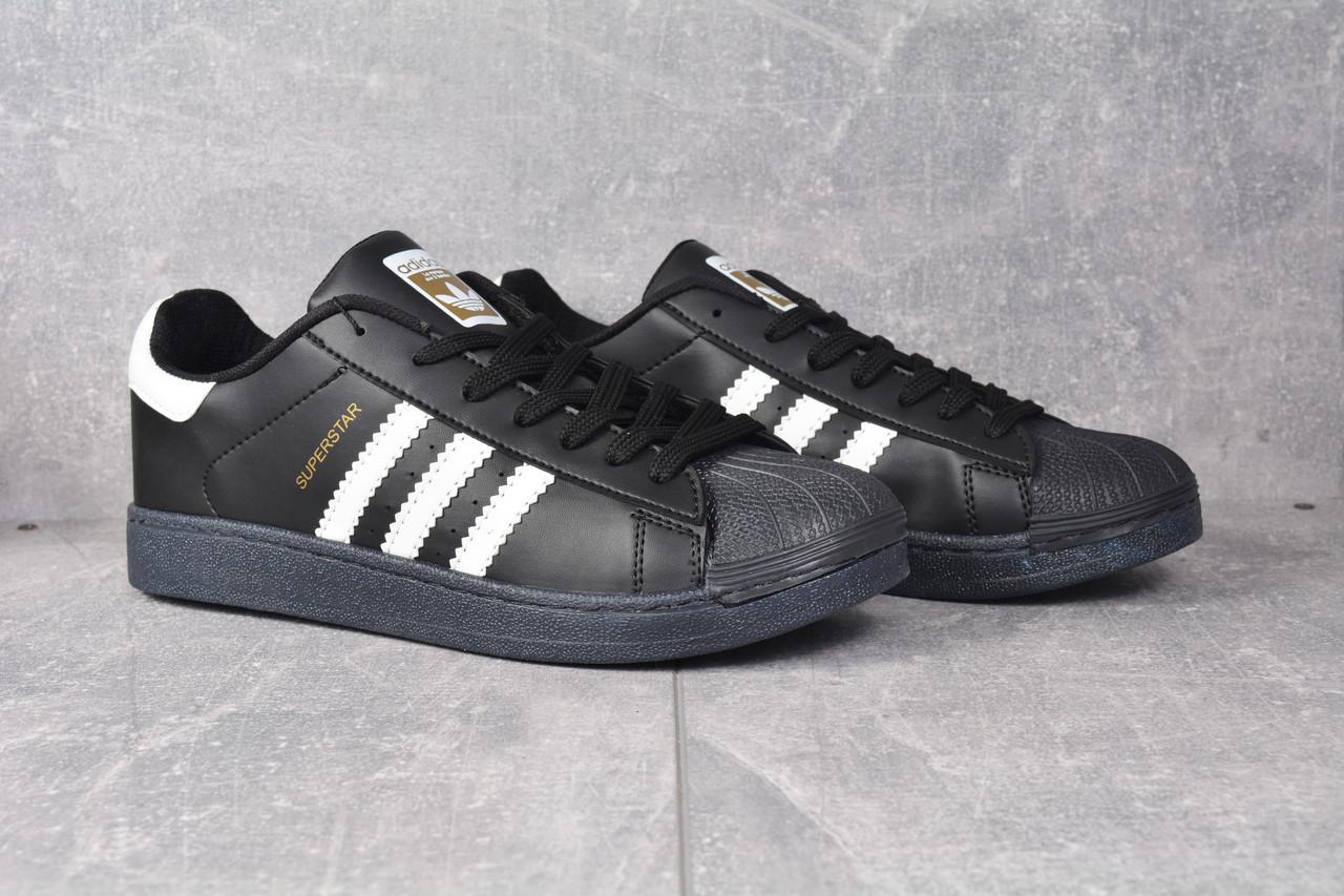 249547e5c815b8 Кроссовки черные Adidas Superstar Black Адідас Суперстар - krosshouse.ua в  Черновцах