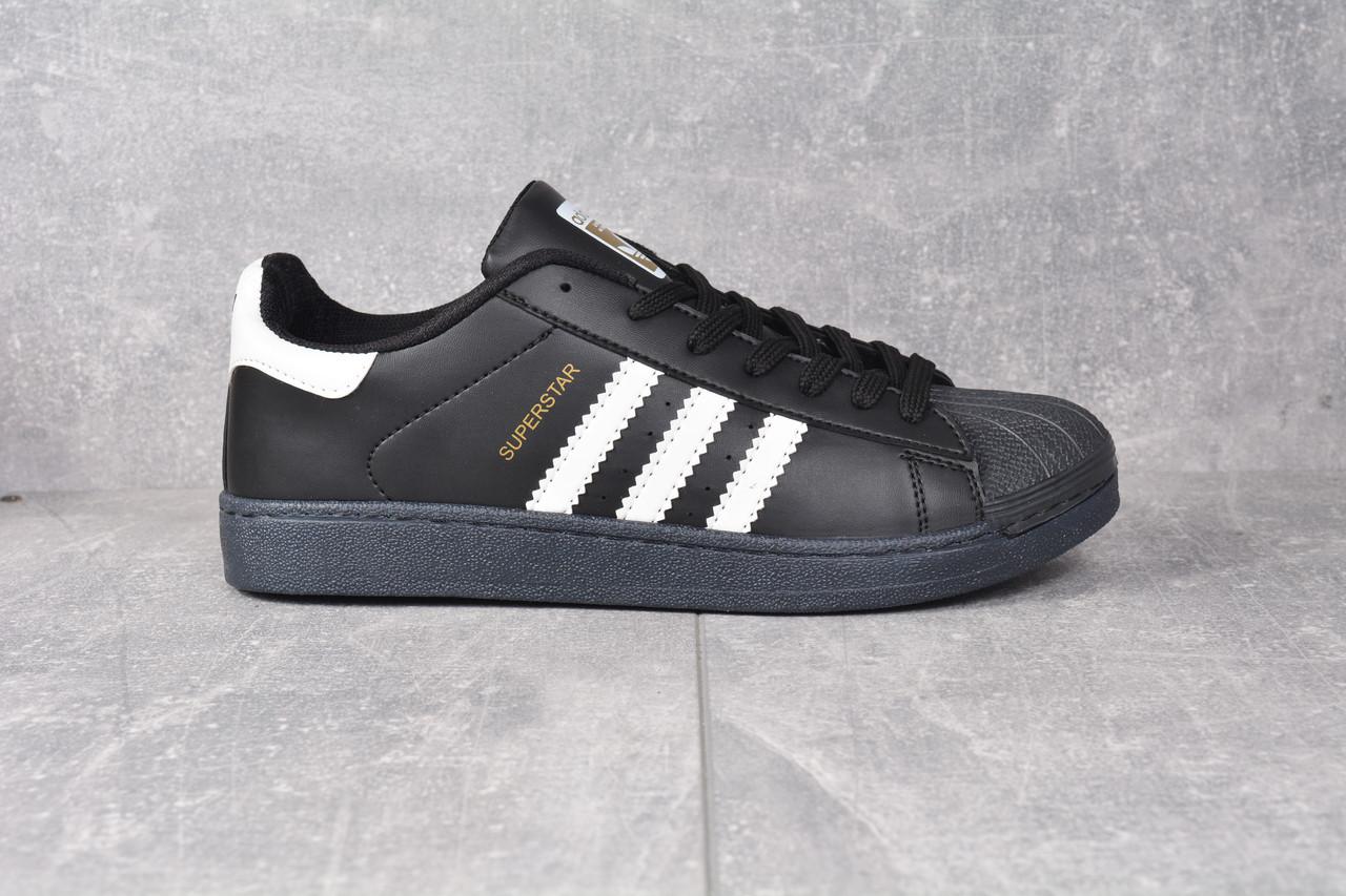 56c49f36a99192 Кроссовки черные Adidas Superstar Black Адідас Суперстар, цена 599 грн.,  купить Чернівці — Prom.ua (ID#949928750)