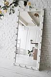 Зеркало напольное с подсветкой M600 AVRORA для дома или салонов красоты. Дзеркало, фото 2