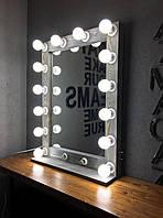 Зеркало настольное с подсветкой M606 MENS для дома и салонов красоты. Дзеркало
