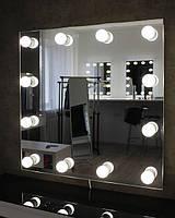 Зеркало с подсветкой M607 LIBER для дома или салона красоты. Дзеркало