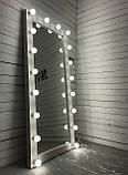 Зеркало напольное LIGHT white для дома и салонов красоты, фото 3