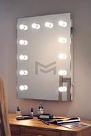 Зеркало настенное с подсветкой M607 LIBER для дома и салонов красоты