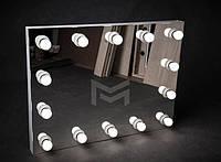 Зеркало настольное или настенное с подсветкой M608 FONS для дома и салонов красоты