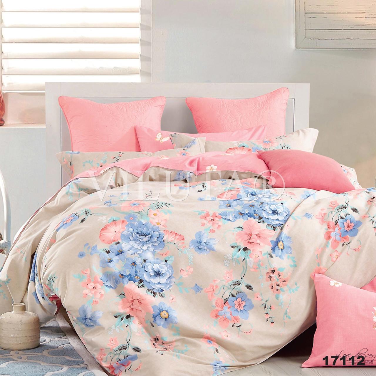 Двуспальное постельное белье Вилюта ранфорс 17112
