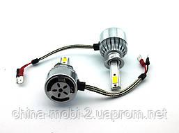 LED C6 H1 COB 6500k 3800Lm 35w 12v-24v, светодиодные автомобильные лампы основного света, фото 2