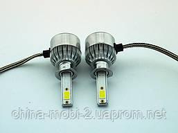 LED C6 H1 COB 6500k 3800Lm 35w 12v-24v, светодиодные автомобильные лампы основного света, фото 3