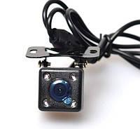 Автомобильная камера заднего и переднего вида HD 480TV. Тип Кубик с диодами