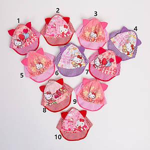 Яркая панамка для девочек на лето - Hello Kitty(к19)