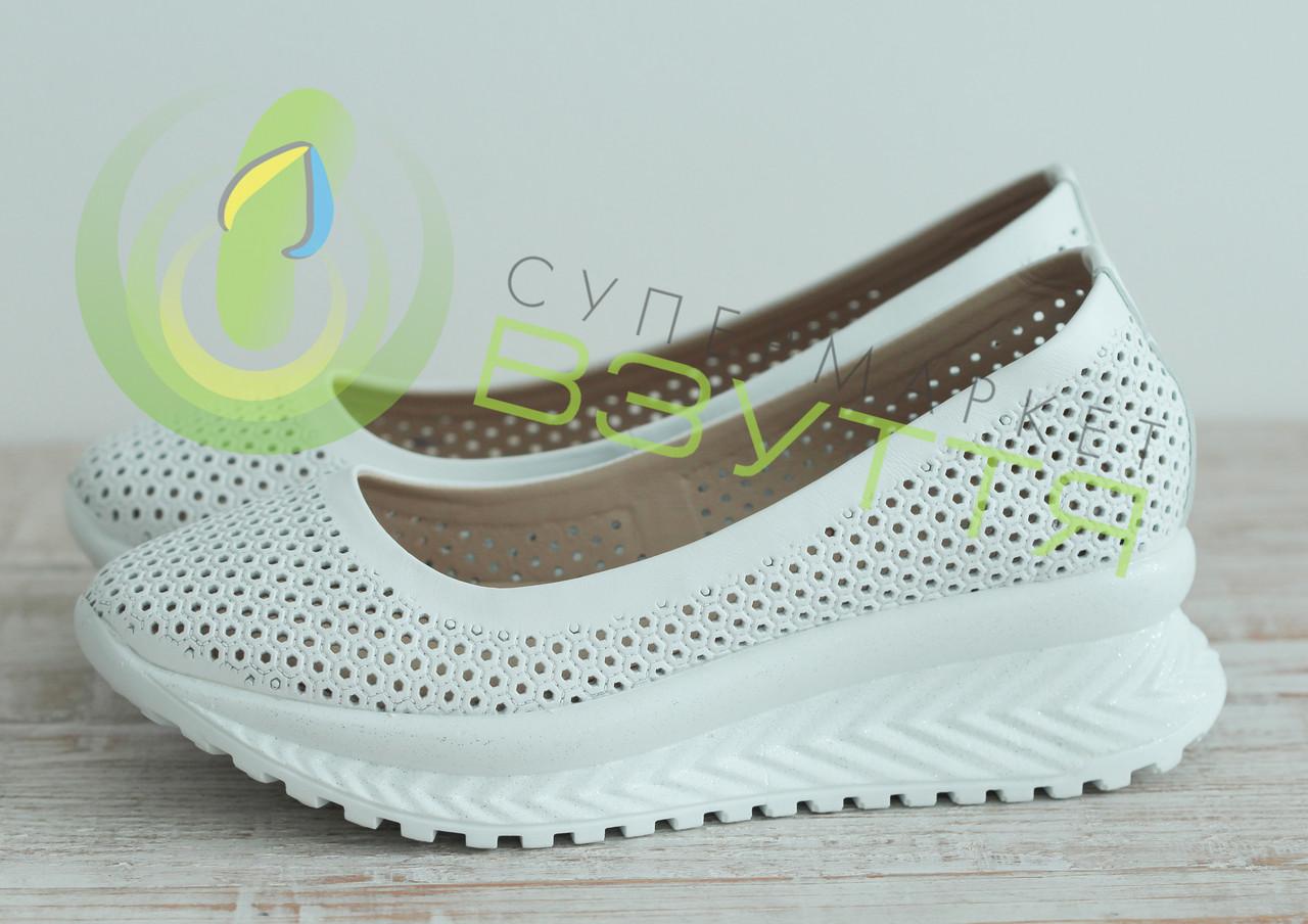 Туфлі жіночі з натуральної шкіри арт 2107 розміри 37-39