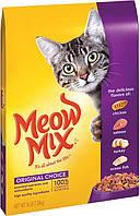 Сухой корм для взрослых кошек Meow Mix Cat Original