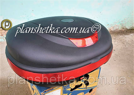 Кофр для скутера мотоцыкла TVR на два шлема, фото 2