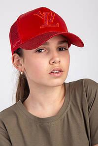 Модная кепка для девочек на лето - Луи Витон(к21)