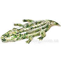 Надувной крокодил камуфляж 29641090, фото 1