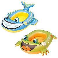 Надувная лодочка (Рыбка, Лягушка) 29634085, фото 1