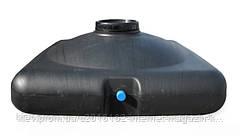 Бак плоский для летнего душа с лейкой пластиковый 150 л