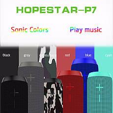 Hopestar P7 Портативная влагозащищенная Bluetooth акустика, фото 2