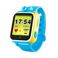 Детские часы с GPS SMART BABY WATCH Q200 Голубые