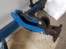 Окучник дисковый agromarka luxe на двойной сцепке с усиленными стойками (ф дисков 420мм)  Агромарка, фото 3