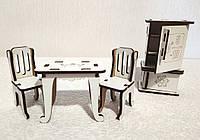 """Игровой набор """"Кухня1 Мультигерой"""" для куклы Лоло, малышей куклы Барби"""