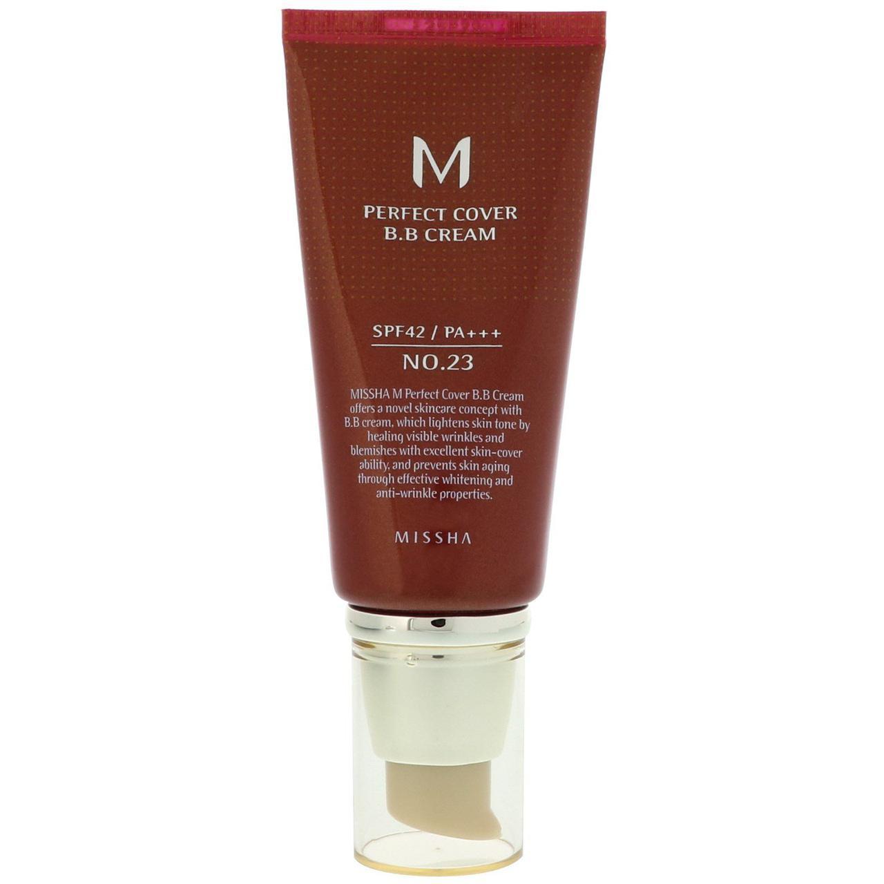 ВВ-крем для лица Missha M Perfect Cover BB Cream SPF42/PA+++ (No.23/Natural Beige) 50 мл