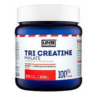 Креатин малат UNS, 100% Pure Creatine Malate, 200 г