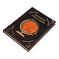 """Книга в шкіряній палітурці """"Великий атлас світу"""", фото 2"""