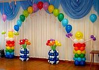 Оформление шарами
