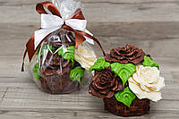 Шоколадный букет ромашек для жены