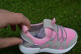Кроссовки детские на девочку Nike Roshe Run розовые, фото 2