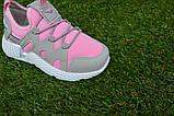 Кроссовки детские на девочку Nike Roshe Run розовые, фото 5