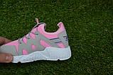 Кроссовки детские на девочку Nike Roshe Run розовые, фото 7