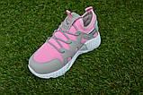 Кроссовки детские на девочку Nike Roshe Run розовые, фото 8