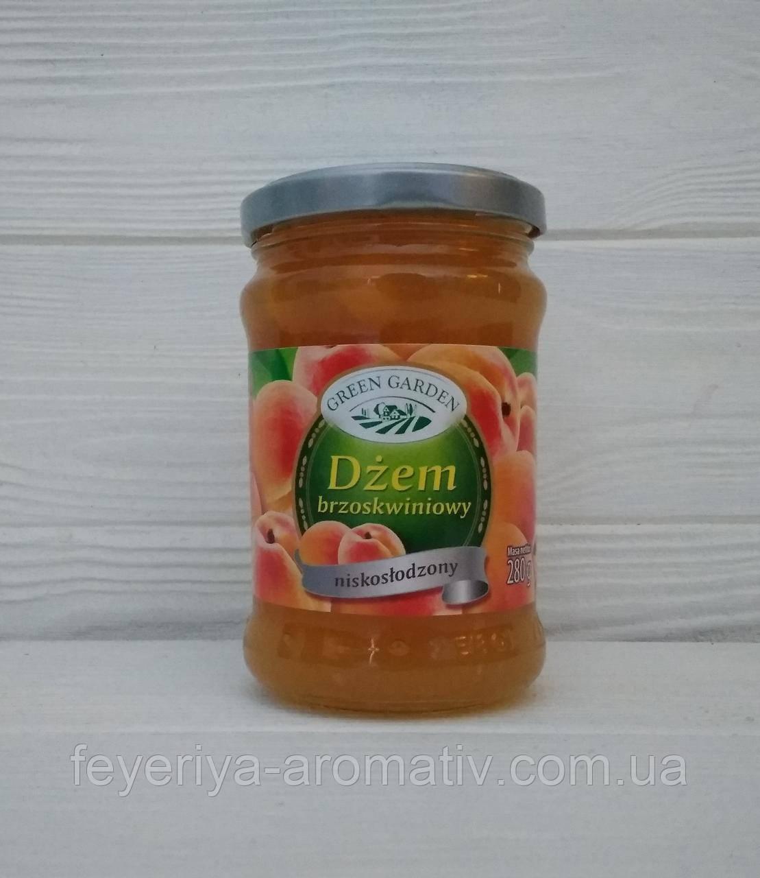 Персиковый джем Green Garden Brzoskwiniowy niskolodzony 280гр (Польша)