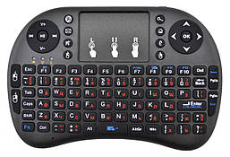 Бездротова російська клавіатура з тачпадом NicePrice Rii mini i8 2.4 G