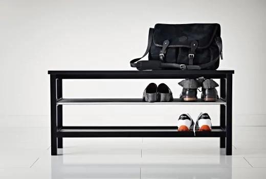 Скамьи для обуви, полки для прихожей IKEA