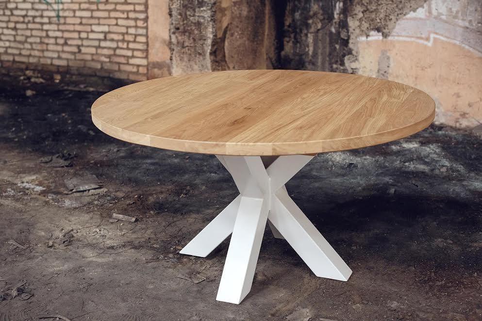 Стол для бара, ресторана, дома в стиле Лофт. Столешница из массива дуба.