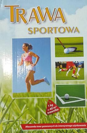 Газонна трава Sportowa спортивна 1кг, фото 2