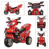 Детский мотоцикл  BAMBI M 0563 красный Гарантия качества Быстрая доставка
