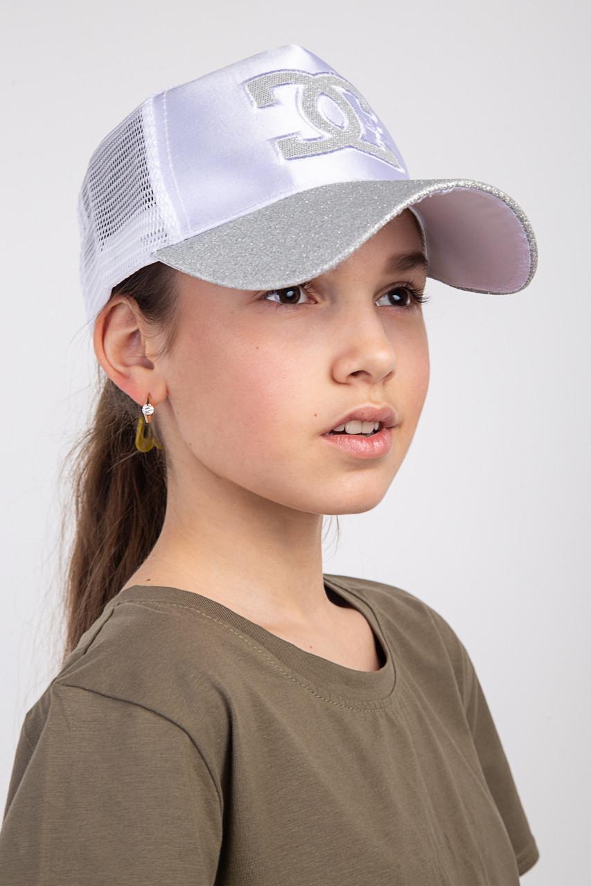 Летняя кепка для девочек оптом - Chanel(к24)