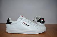 Кожаные кроссовки Fila.