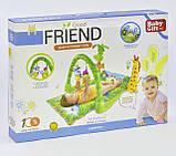 """Дитячий розвиваючий килимок 3059 """"Тропічний ліс"""", фото 2"""