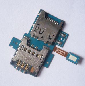 Коннектор SIM-карты и карты памяти для Samsung i9070 Galaxy S Advance, на шлейфе