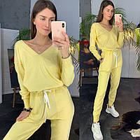 Комбинезон женский модный вязаный с карманами Dld1480, фото 1