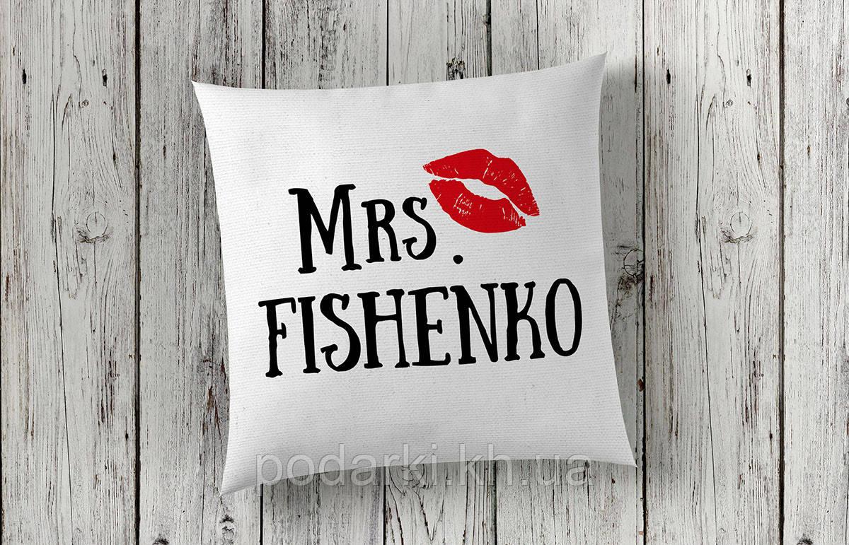 Оригинальная подушка для жены